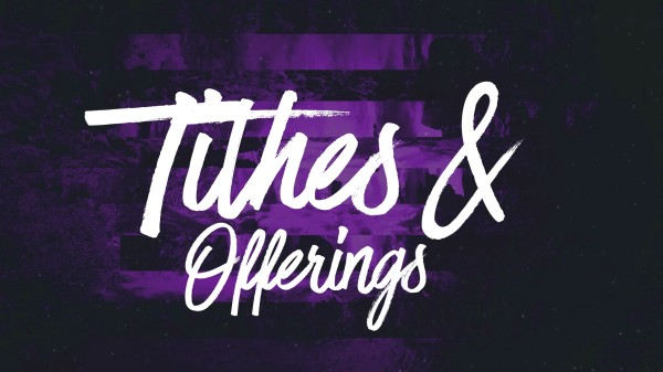 Ink Drop Tithes Offerings Church Motion