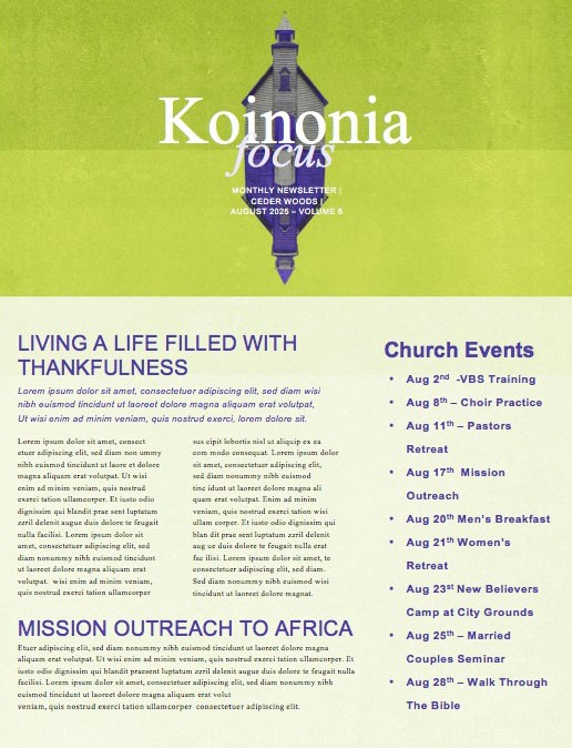 Separation of Church And Hate Church Newsletter