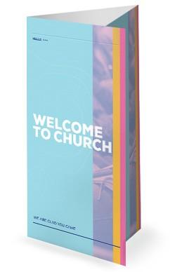Membership Class Sign Up Church Trifold Bulletin