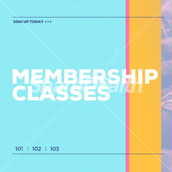 Membership Class Sign Up Social Media Graphic