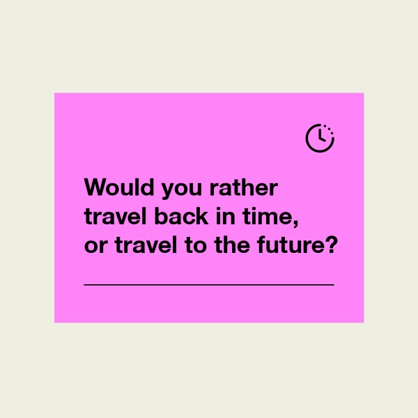 Time Travel Social Media Graphic