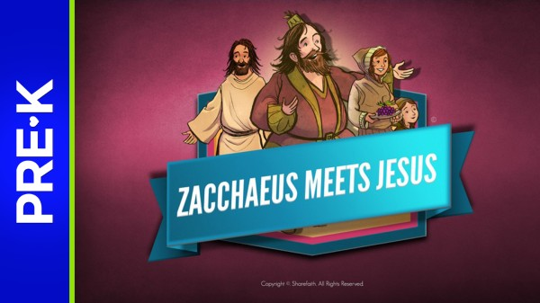 Luke 19 The Story of Zacchaeus Preschool Bible Video