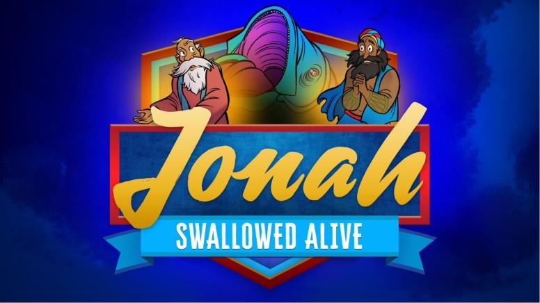 Jonah 1 Swallowed Alive Kids Bible Story