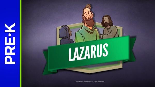 John 11 The Story of Lazarus Preschool Bible Video