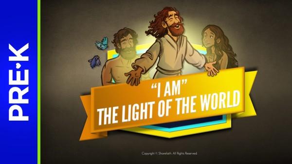 John 8 Light Of The World Preschool Bible Video
