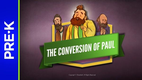 Acts 9 Paul's Conversion Preschool Bible Video