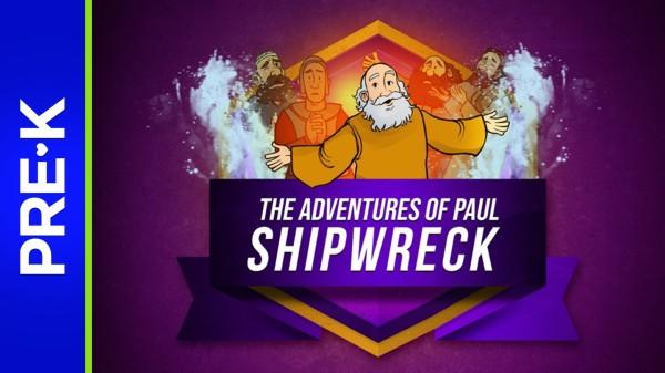 Acts 27 Shipwreck Preschool Bible Video