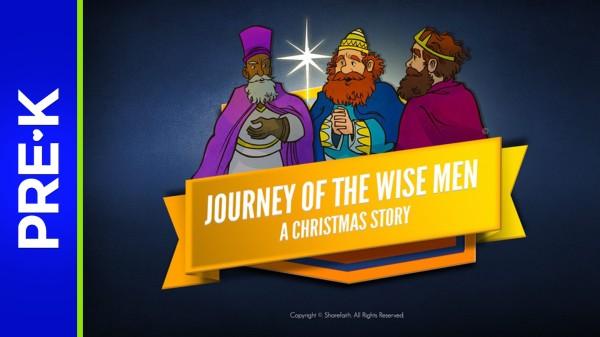 Matthew 2 Journey of the Wise Men Preschool Bible Video