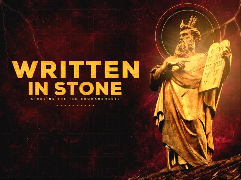 Written In Stone Church PowerPoint