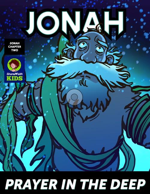 Jonah 2 Prayer in the Deep Digital Comic Book