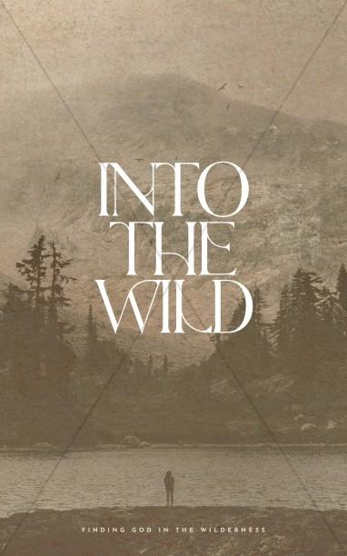 Into The Wild Church Bifold Bulletin