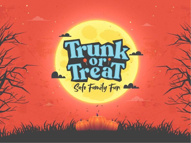 Trunk Or Treat Pumpkins Church PowerPoint