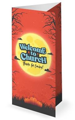 Trunk Or Treat Pumpkins Church Trifold Bulletin