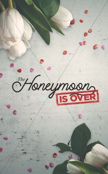 Honeymoon Is Over Church Bifold Bulletin