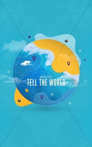 Tell The World Church Bifold Bulletin
