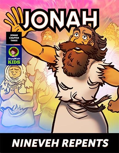 Jonah 3 Nineveh Repents Digital Comic Book