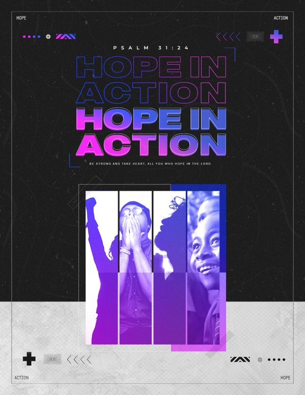 Hope In Action Church Flyer