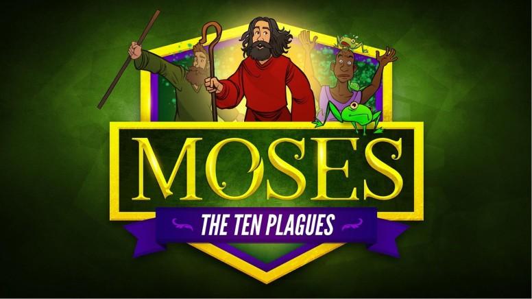 Exodus 5 The Ten Plagues Kids Bible Story for Kids