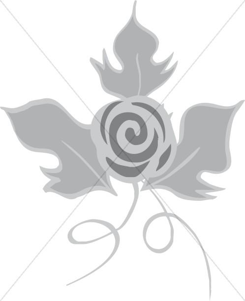 Decorative Rose Flower