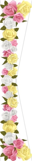Realistic Spring Rose Page Side 2