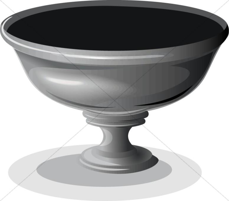 Silver Ceremonial Bowl
