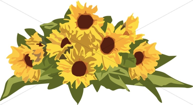 Golden Sunflower Page Top