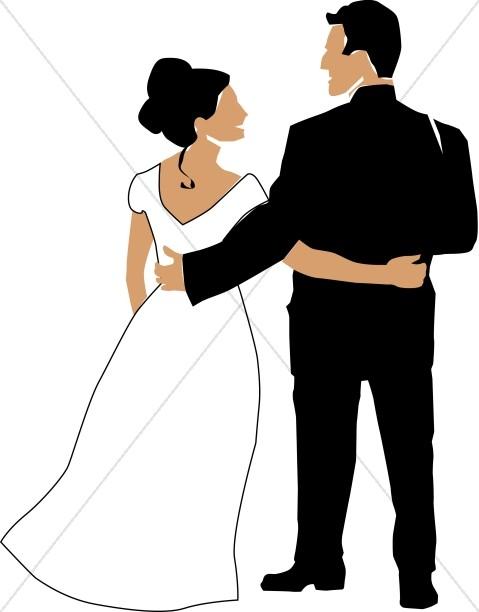 Bride with Elegant Updo