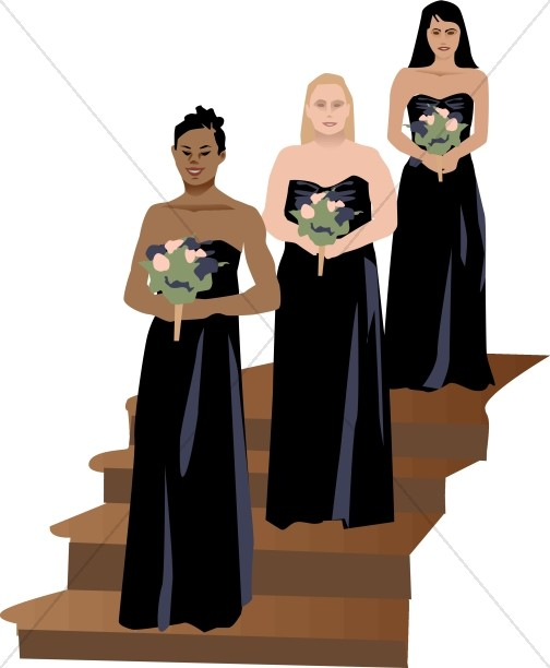 Formal Bridesmaids
