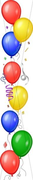 Bold Balloon Border