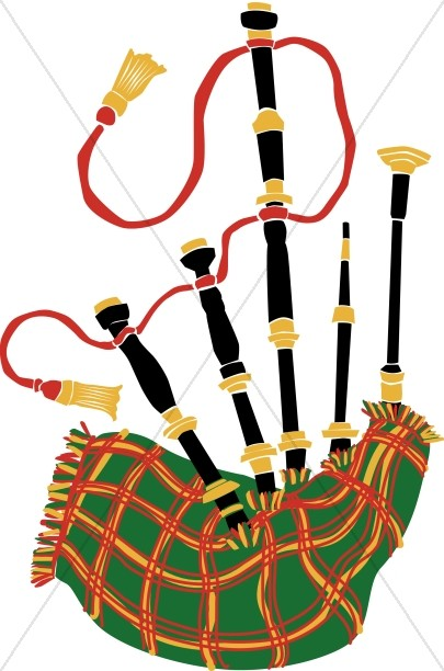 Plaid Bagpipes