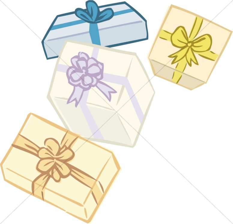 Four Floating Presents