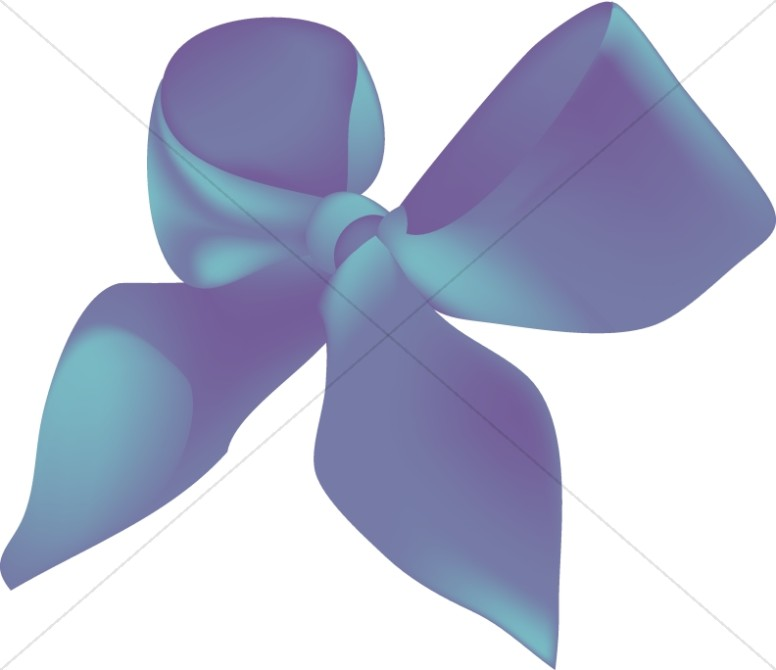 Teal Colored Ribbon