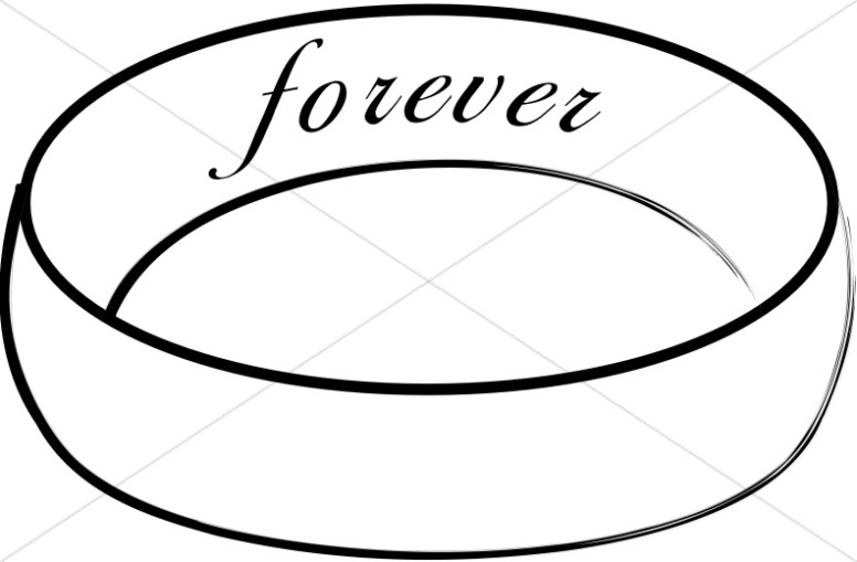 Forever Engraved on the Inside of Wedding Band