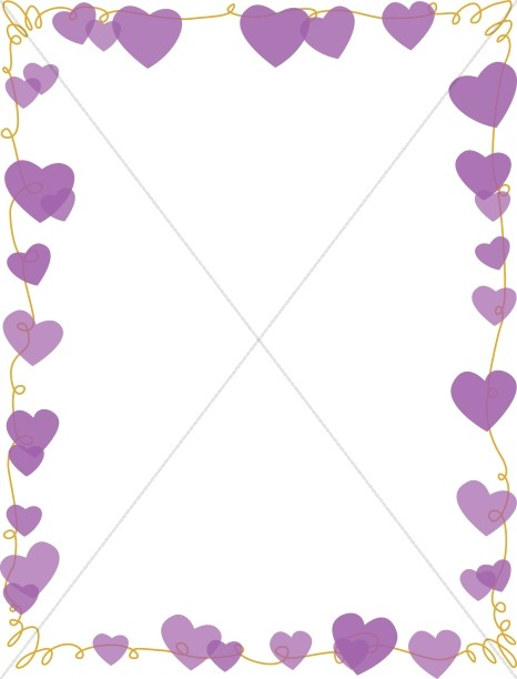 Love Letter String of Hearts