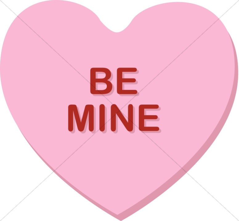 Be Mine Valentine's Candy