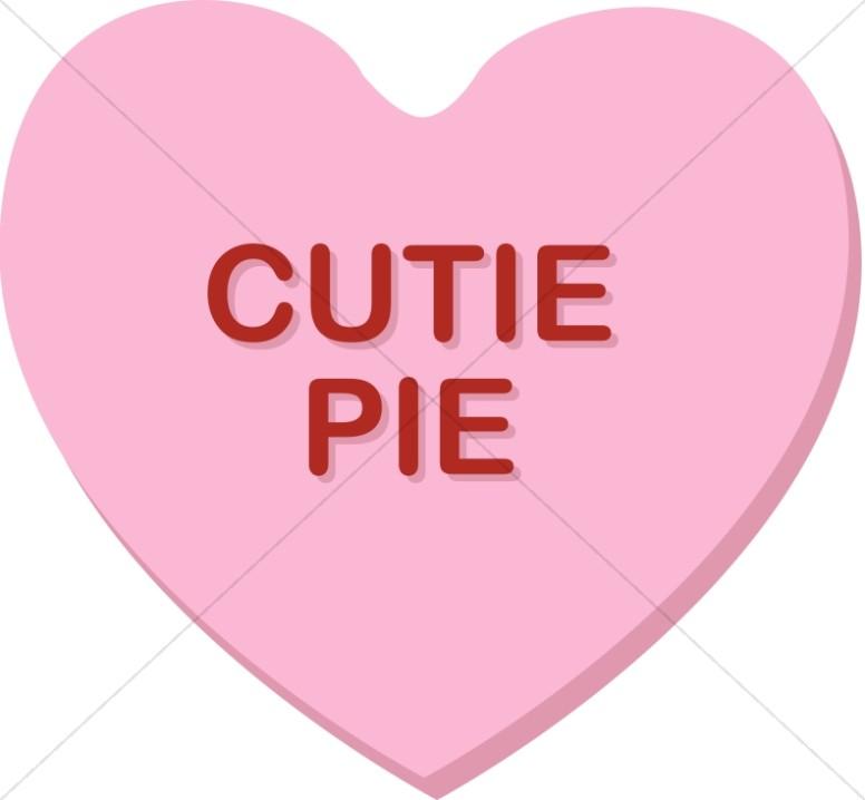 Cutie Pie Valentine Heart