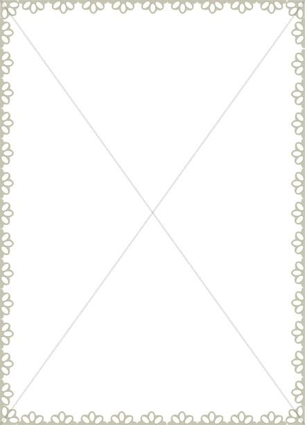 Half Flower Page Frame