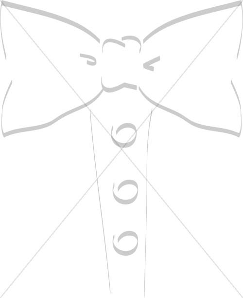 Tuxedo Tie Watermark
