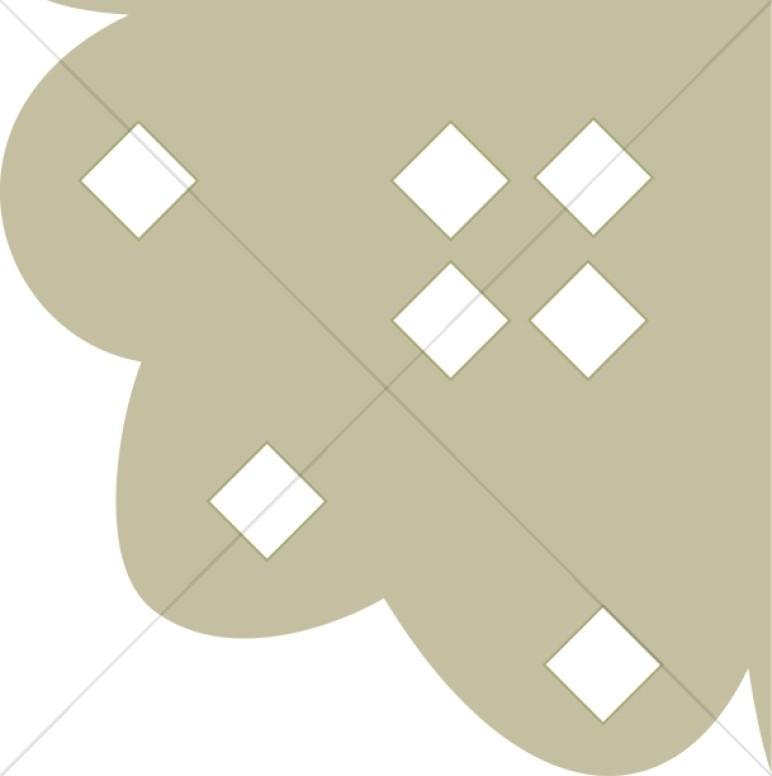 Diamond Cornice Page Corner