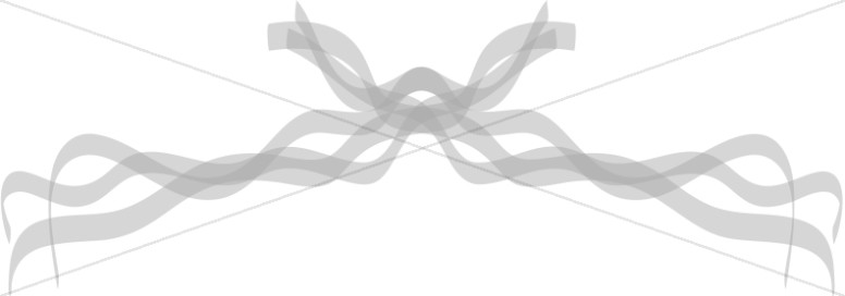 Transparent Gray Ribbons