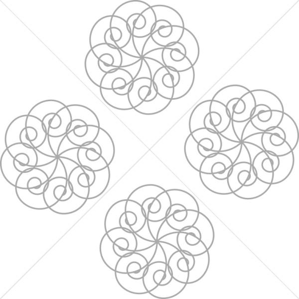 Four Spiral Motifs
