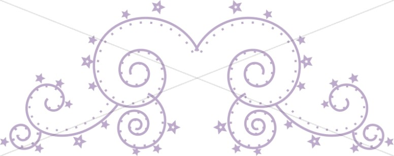 Purple Swirl Page Top