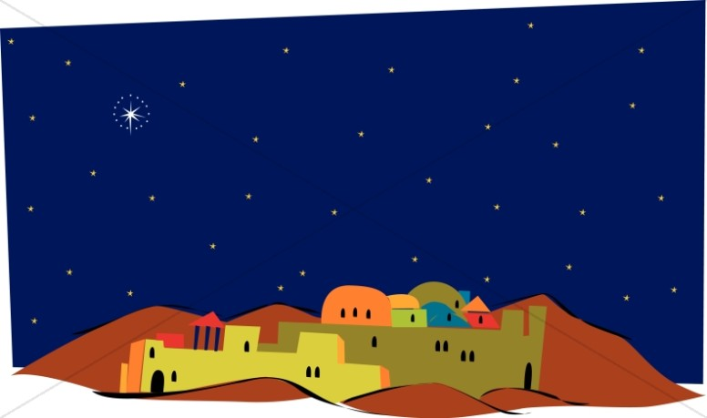 Over Colorful Bethlehem