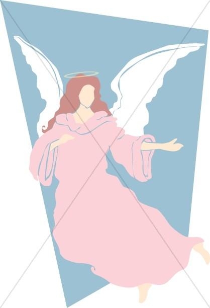 Religious Art Angel Clipart