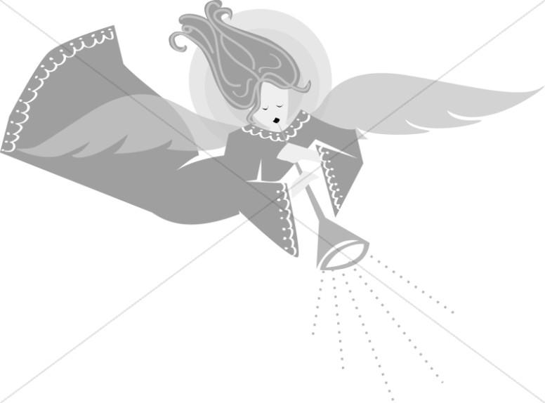 Angel Heralds the Birth of Jesus