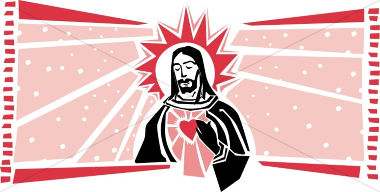 Jesus and the Sacred Heart