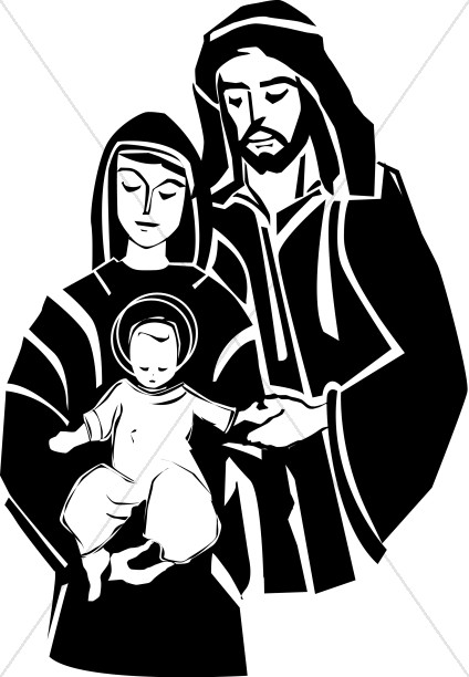 Jesus With His Parents