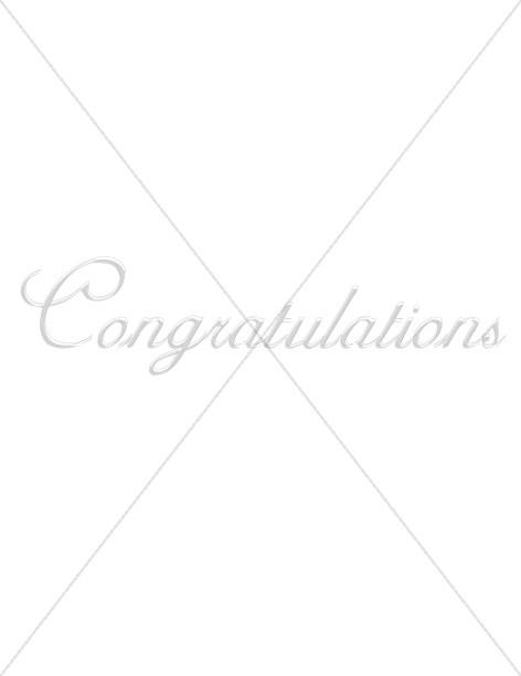 Congratulations Round Script