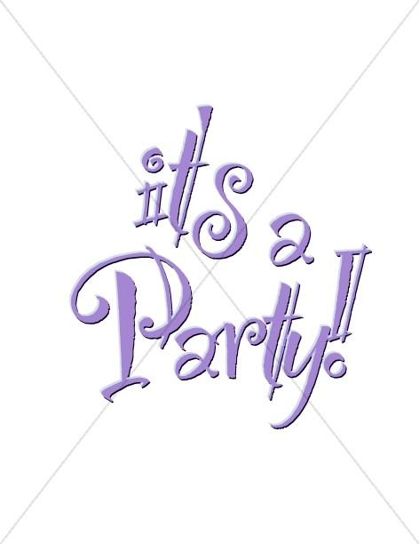 Purple Party Announcement