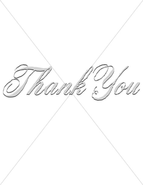 Rugged Thank You Script